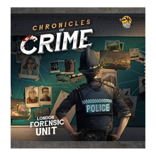 Chronicles of Crime i gruppen SELSKABSSPIL / Strategispil hos Spelexperten (LKY035)