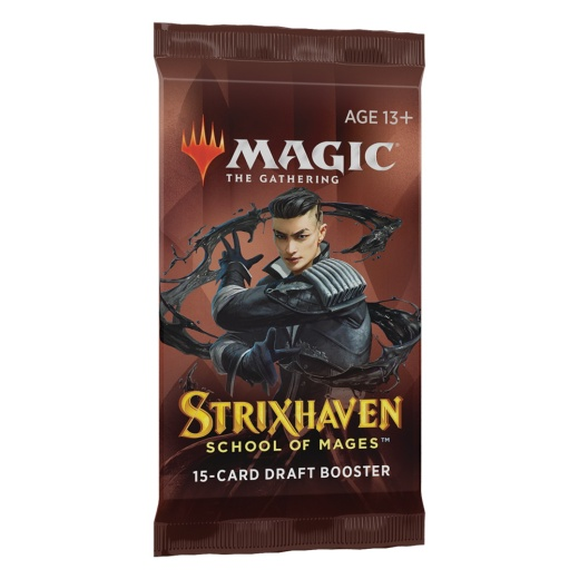 Magic: The Gathering - Strixhaven Draft Booster i gruppen SELSKABSSPIL / Magic The Gathering hos Spelexperten (MAGC8435)